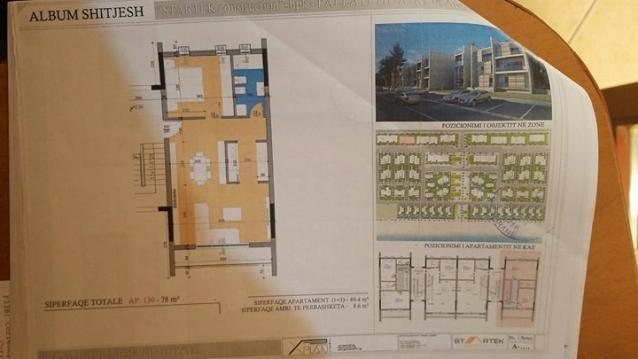 Apartament 1+1, Gjiri I Lalezit
