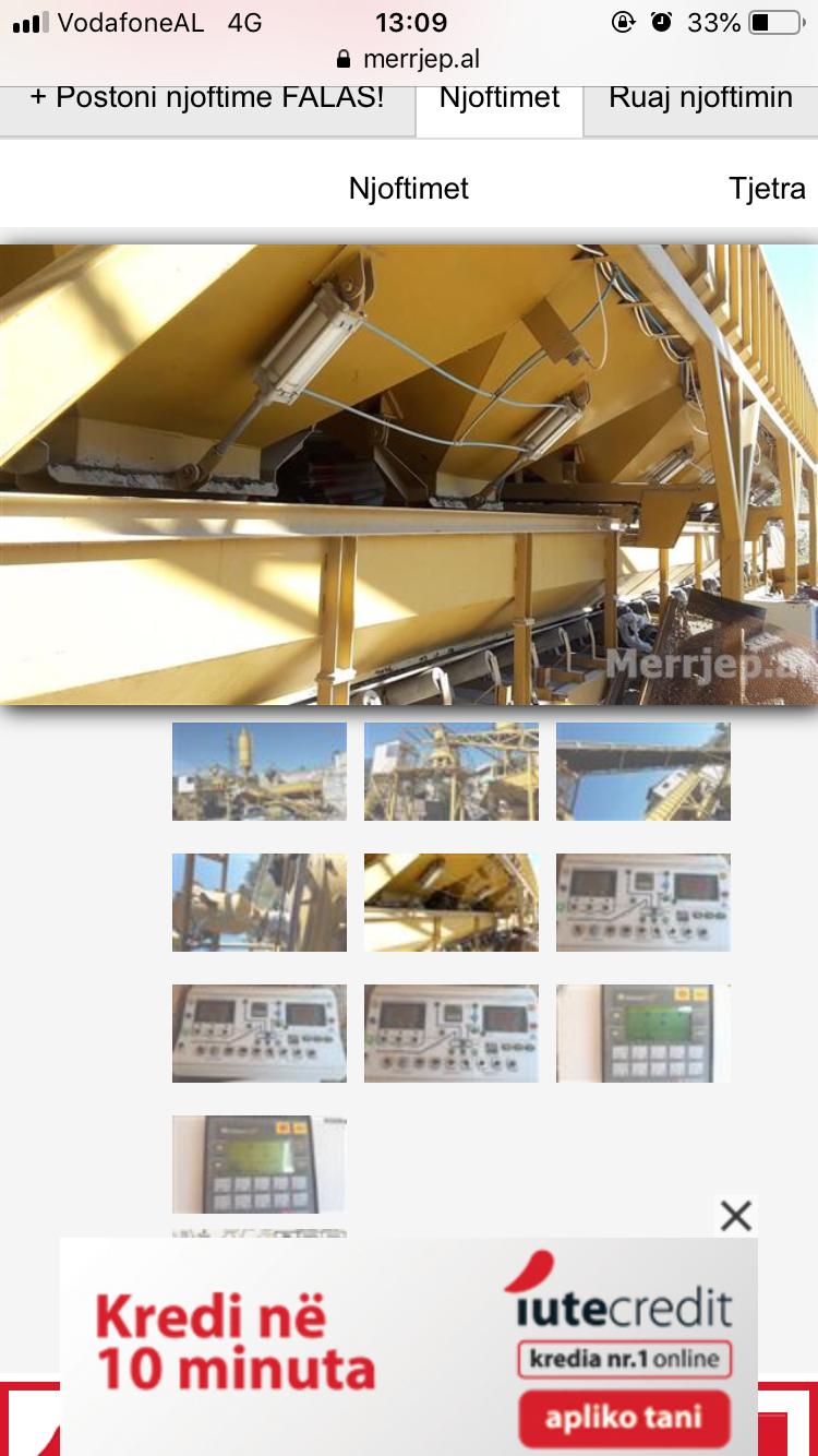 Linje prodhimi betoni e re
