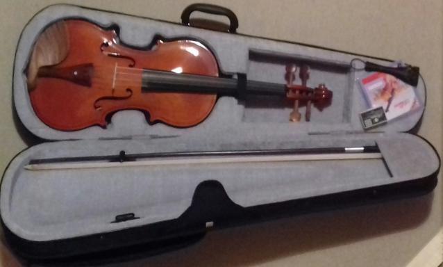 Violine e paperdorur, 4/4.