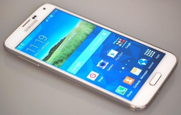 Samsung S5 i bardhe