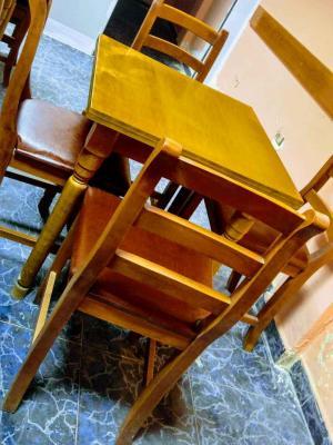 Shiten tavolina dhe karrige druri