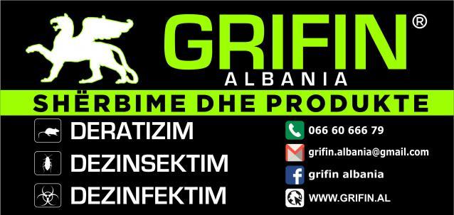 DEZINFEKTIM, DEZINSEKTIM, DERATIZIM- GRIFIN ALBANIA. Per te gjitha nevojat!