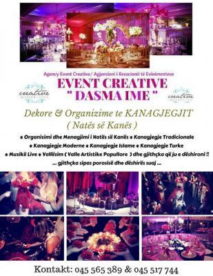 EventCreative DASMA IME - Dasma dhe Ahengje Familjare !!