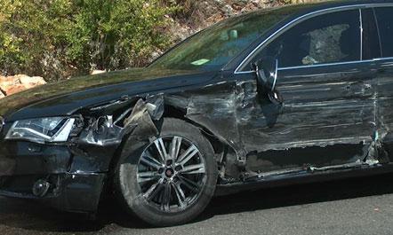 Nje aksident automobilistik me pasoje nje te plagosur ka ndodhur paradite e sotme