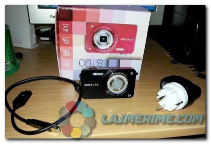 Shitet nje aparat fotografik ne gjendje te mire Samsung 14.2 megapixel + dhurate!!.Interesohuni duke