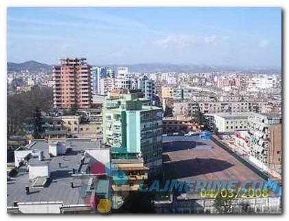 Tirane, shes apartament 2+1 Kati 11, 75 m2 86.000...