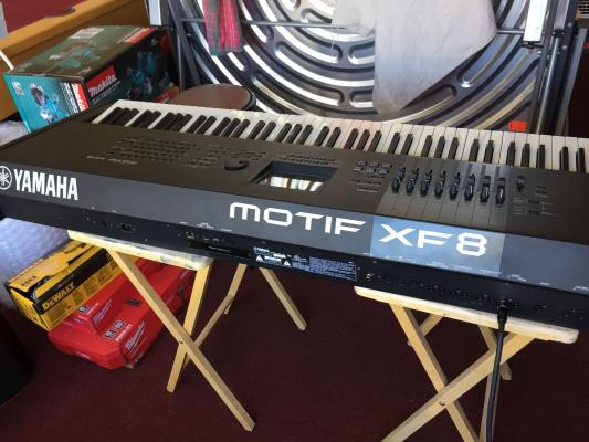 Yamaha Motif XF8 88-Key Balanced Hammer Action Workstation