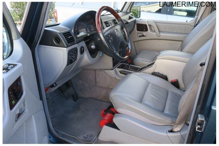 Mercedes-Benz G 400 CDI 2001