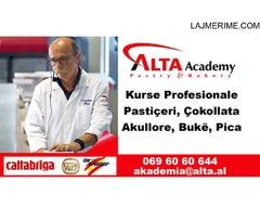 Alta Akademi - Kurse te Licensuara Profesionale Pasticerie, Akullore, Bar/Kafe