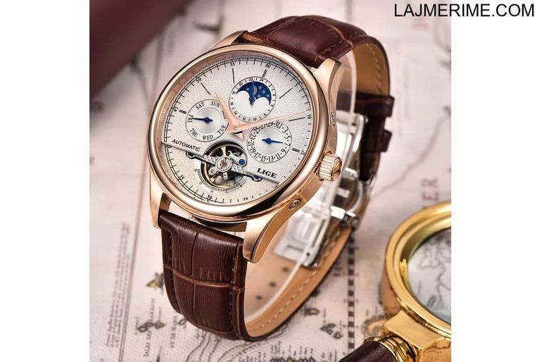Ore Automatike chronograph Tourbillon 5ATM